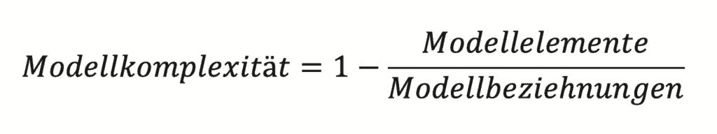 Formula Model complexity