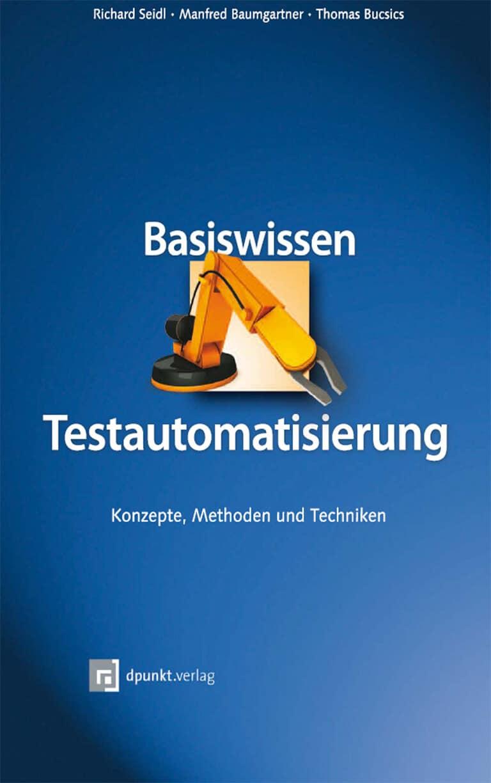 Cover Buch Basiswissen Testautomatisierung