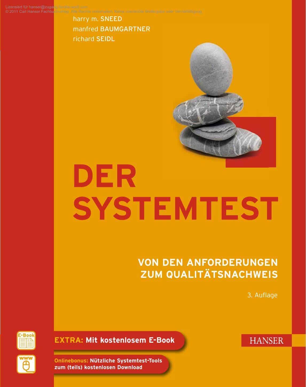 Cover Buch Der Systemtest