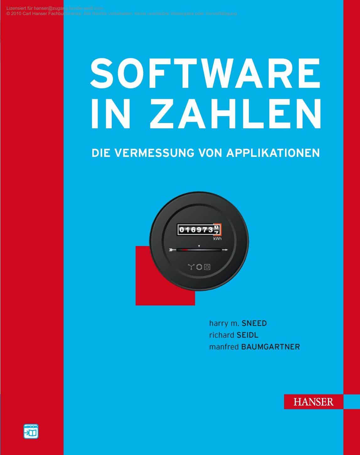Cover Buch Software in Zahlen