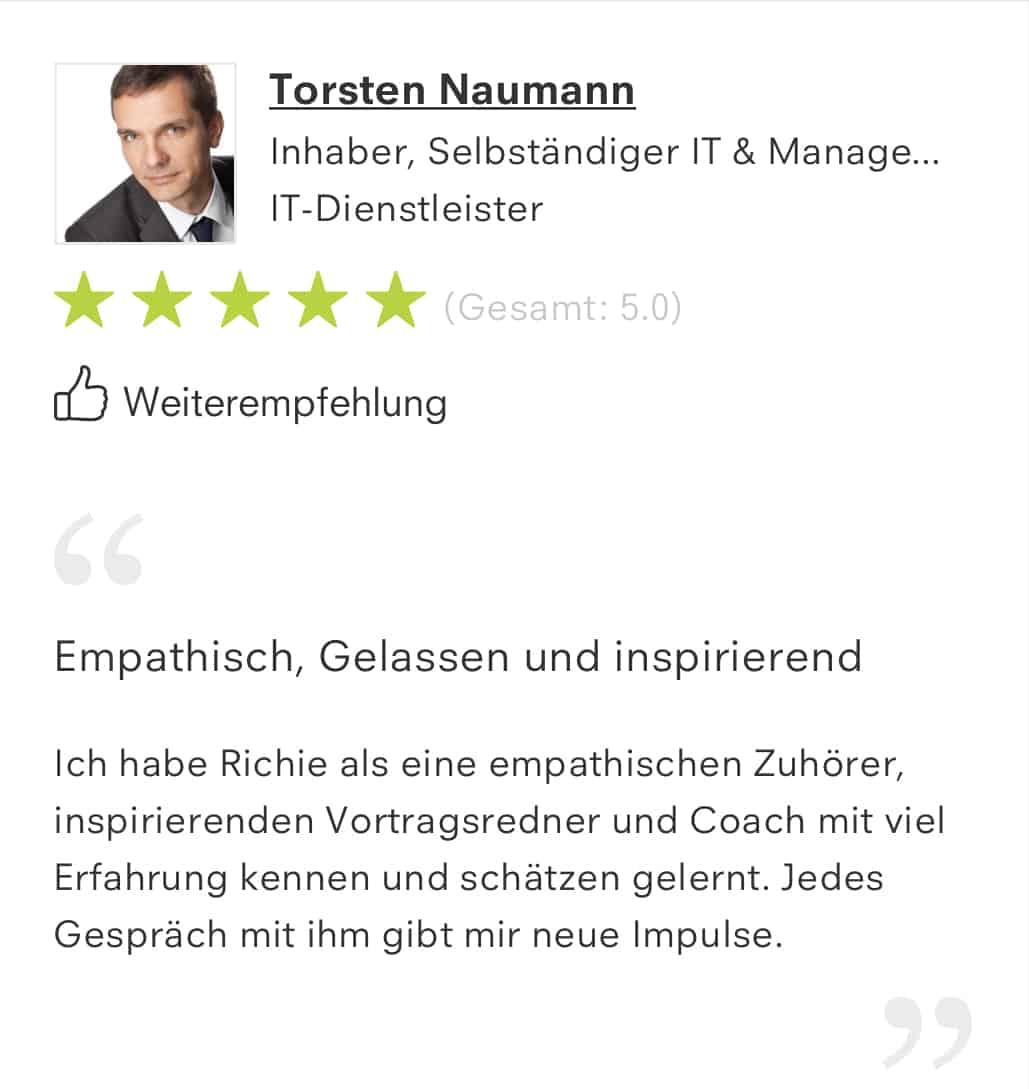 Reference Torsten Naumann